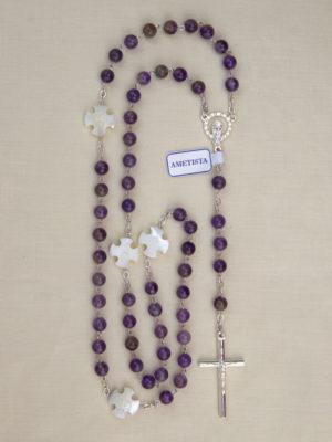 vendita rosari ametista roma