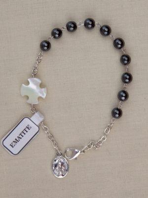 vendita bracciale rosari ematite roma
