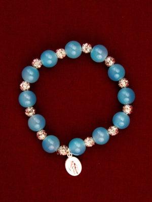 vendita bracciali rosari in vetro roma
