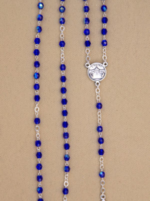 rosariosemicristallo blu vendita roma