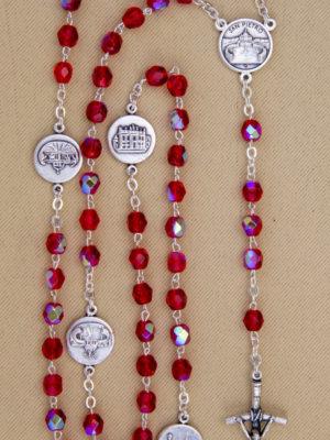 vendita rosari rossi