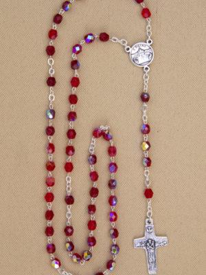 rosario semicristallo vendita