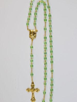 vendita rosario-semicristallo-verde