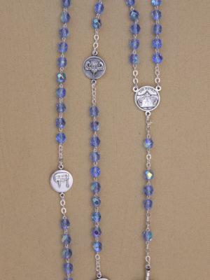 rosario semicristallo zaffiro roma