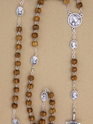 vendita rosari legno ulivo roma