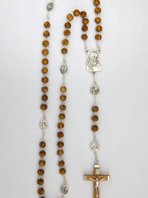vendita rosari roma ulivo padre pio